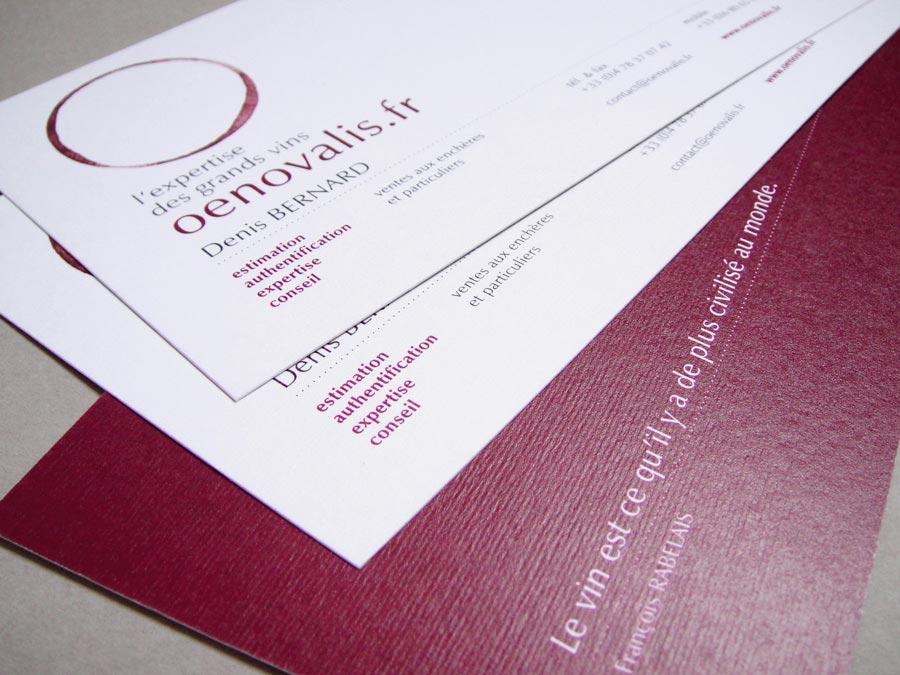 Cartes De Visite Expert Oenologue